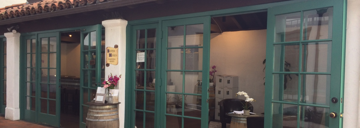 front entrance of tasting room